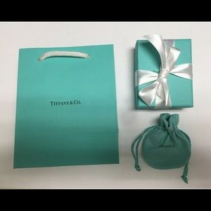 Brand New Tiffany & Co. Jewelry Gift Bag Box Pouch